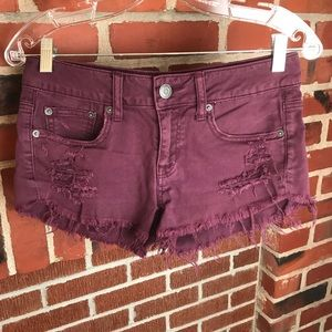 🔥Distressed American Eagle Shorts